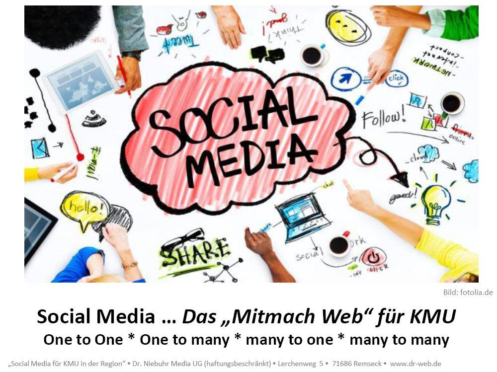 Social Media, Social Media Marketing, das Mitmach Web für Klein- und Mittelständische Betriebe